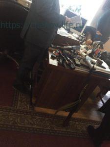 Оружие обнаруженное у Большакова в кабинете