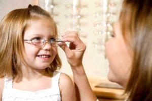 Причины миопии у детей