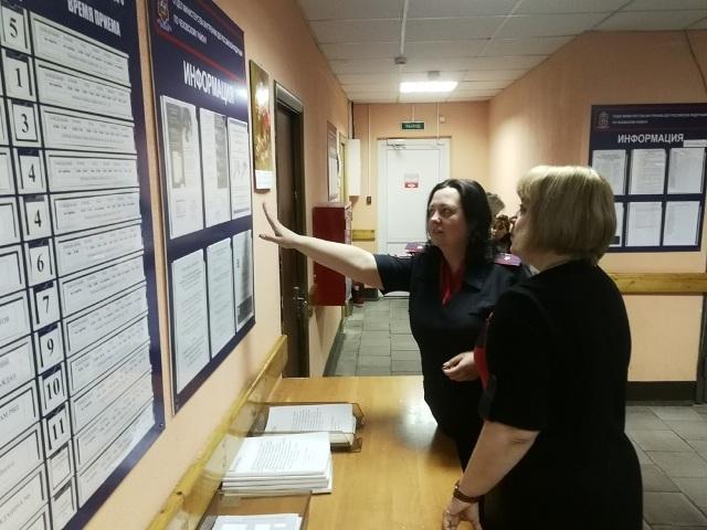 В городе Чехов прошла проверка Миграционного отдела