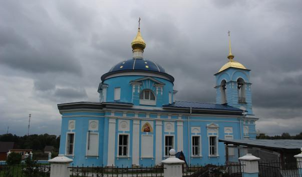 Храм Дубна Чеховский район