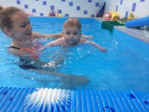 грудничковое плавание чехов