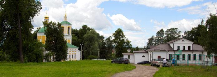 храм иоанна предтечи чехов