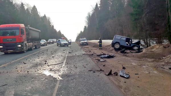 ДТП в Серпухов, 18 марта столкнулись два автомобиля