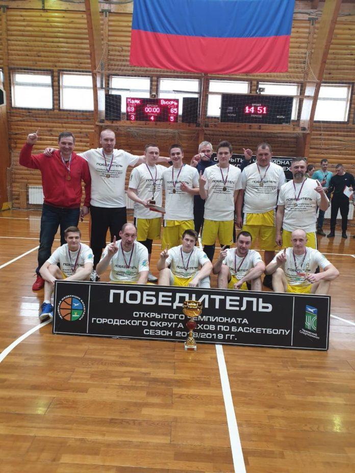 Чемпионат г.о. Чехов по баскетболу