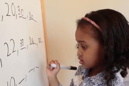 Девочка 4-х лет стала одной изсамых умных в мире