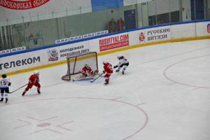 Команда Витязь на открытом кубке МО по хоккею