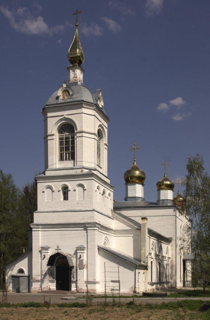храм святой троицы чехов