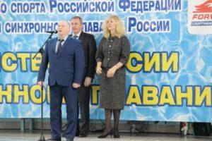 Первенство России по синхронному плаванию в Чехове