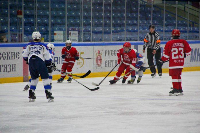 соревнования по хоккею Чехов Балашиха