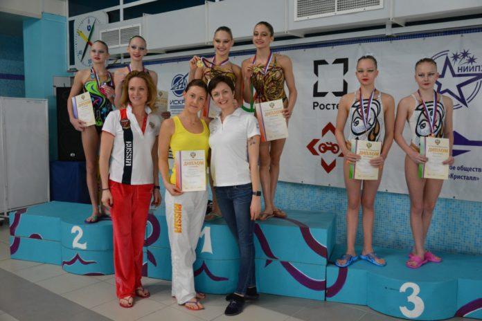 Первенство по синхронному плаванию среди девушек