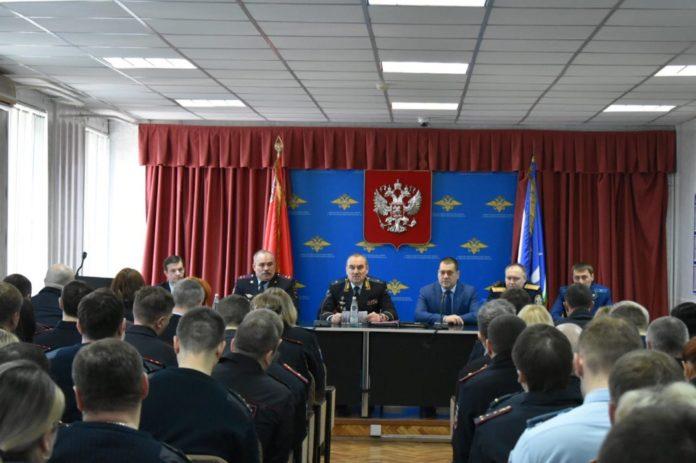 Начальник полиции Чехова - Андрей Борисенко