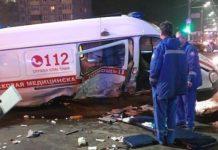 В результате ДТП в Подольске пострадали 5 человек. Страшная авария случилась на улице Кирова поздно ночью. Погибших не установлено