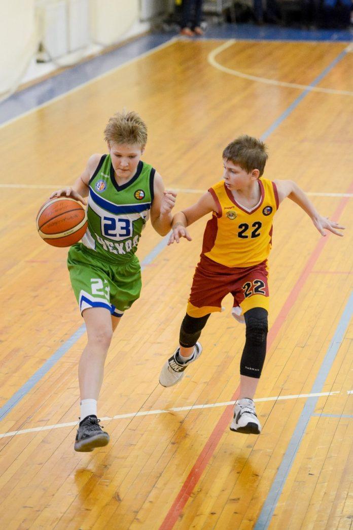 Чеховская баскетбольная команда - Чемпион МО
