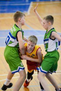 Чеховская баскетбольная команда - Чемпион Московской области