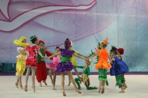 Турнир по художественной гимнастике в Чехове 2