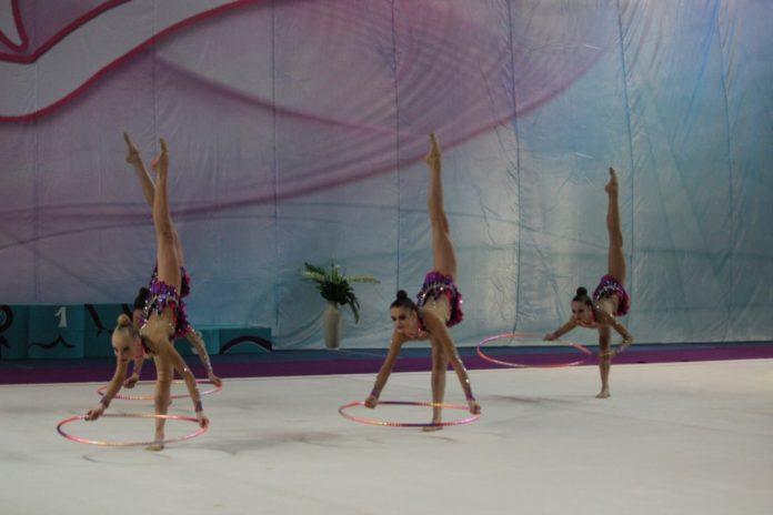 Турнир по художественной гимнастике в Чехове