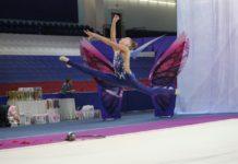 Турнир по художественной гимнастике в Олимпийском