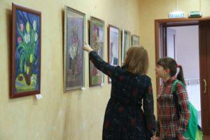Выставка Цветочный Вернисаж в КТЦ Дружба2
