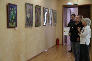Выставка Цветочный Вернисаж в КТЦ Дружба3