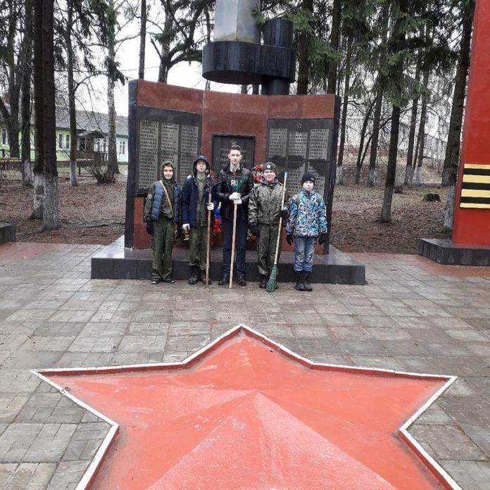 День Победы в поселке Любучаны