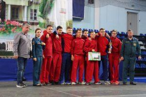 Детские соревнования юных пожарных прошли в Чехове