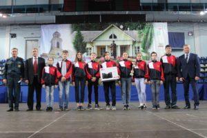 Детские соревнования юных спасателей Чехов