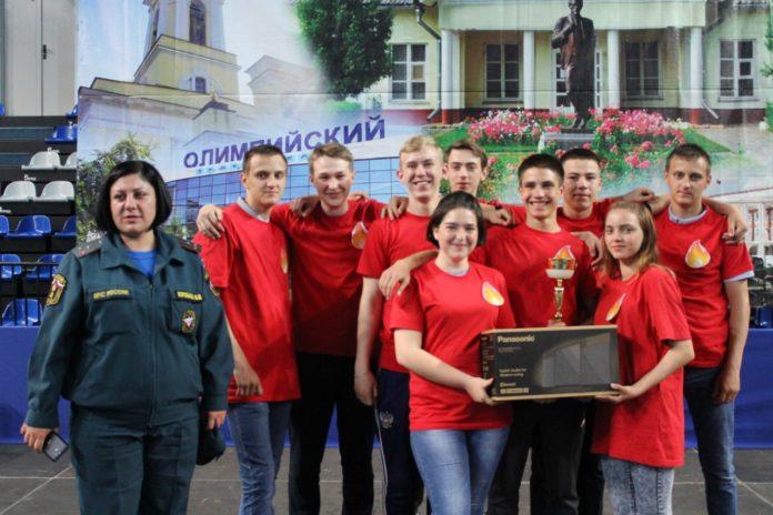 Детские соревнования юных спасателей прошли в Чехове