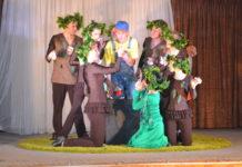 Спектакль Щедрое Дерево прошел в с. Молоди