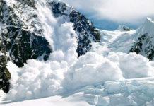 сходе лавины