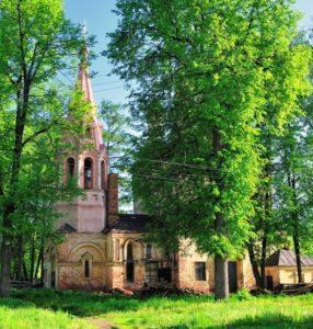 покровская церковь усадьба мещерское