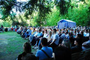 Театральный фестиваль Мелиховская весна открылся в с. мелихово