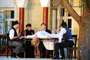 Театральный фестиваль Мелиховская весна открылся в селе мелихово