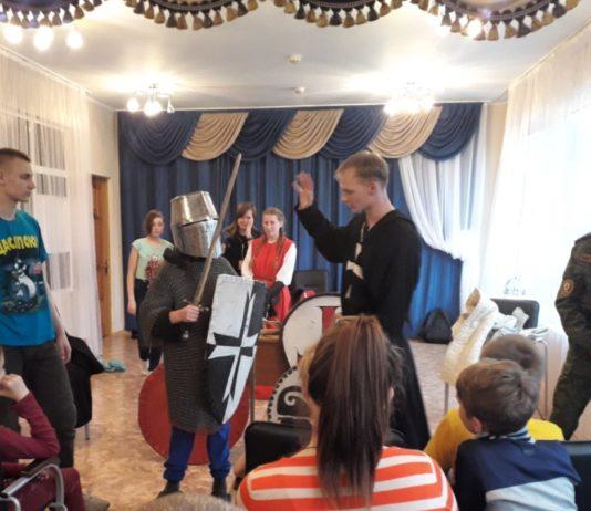 ВПК Цитадель посетил детский дом в Новый Быт