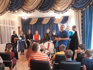 ВПК Цитадель посетил детский дом в с. Новый Быт