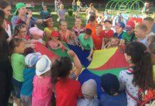 День защиты детей в п. Мещерское