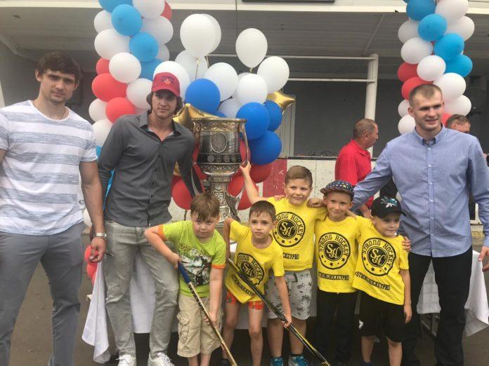 Кубок Гагарина приехал в Чехов 3