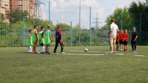 Открытый турнир по мини-футболу прошел в Чехове