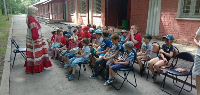 Ребята из лагеря Радуга посетили очередное мероприятие