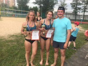 Турнир по пляжному волейболу прошел 12 июня 1