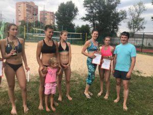 Турнир по пляжному волейболу прошел 12 июня 2