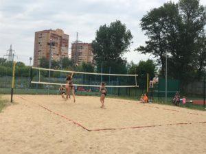 Турнир по пляжному волейболу прошел 12 июня 3