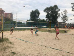 Турнир по пляжному волейболу прошел 12 июня 4