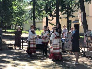 В лагерях дневного пребывания прошло путешествие в Гостиную Василисы