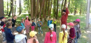 В лагерях дневного пребывания прошло путешествие в Гостиную Василисы Премудрой 1