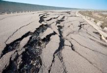 землетрясение в Калифорнии