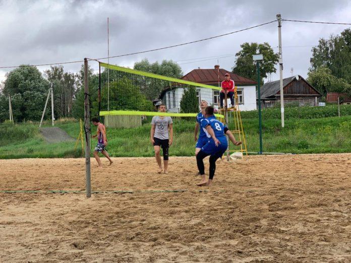 Турнир по пляжному волейболу в Крюково
