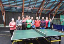 Соревнования по настольному теннису в Пронино