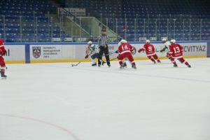 Хоккейный матч ЮХЛ в Чехове