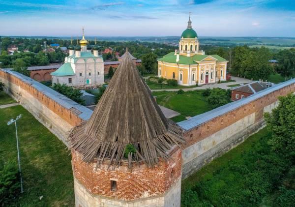 День города в Зарайске отметили фестивалем воздухоплавания