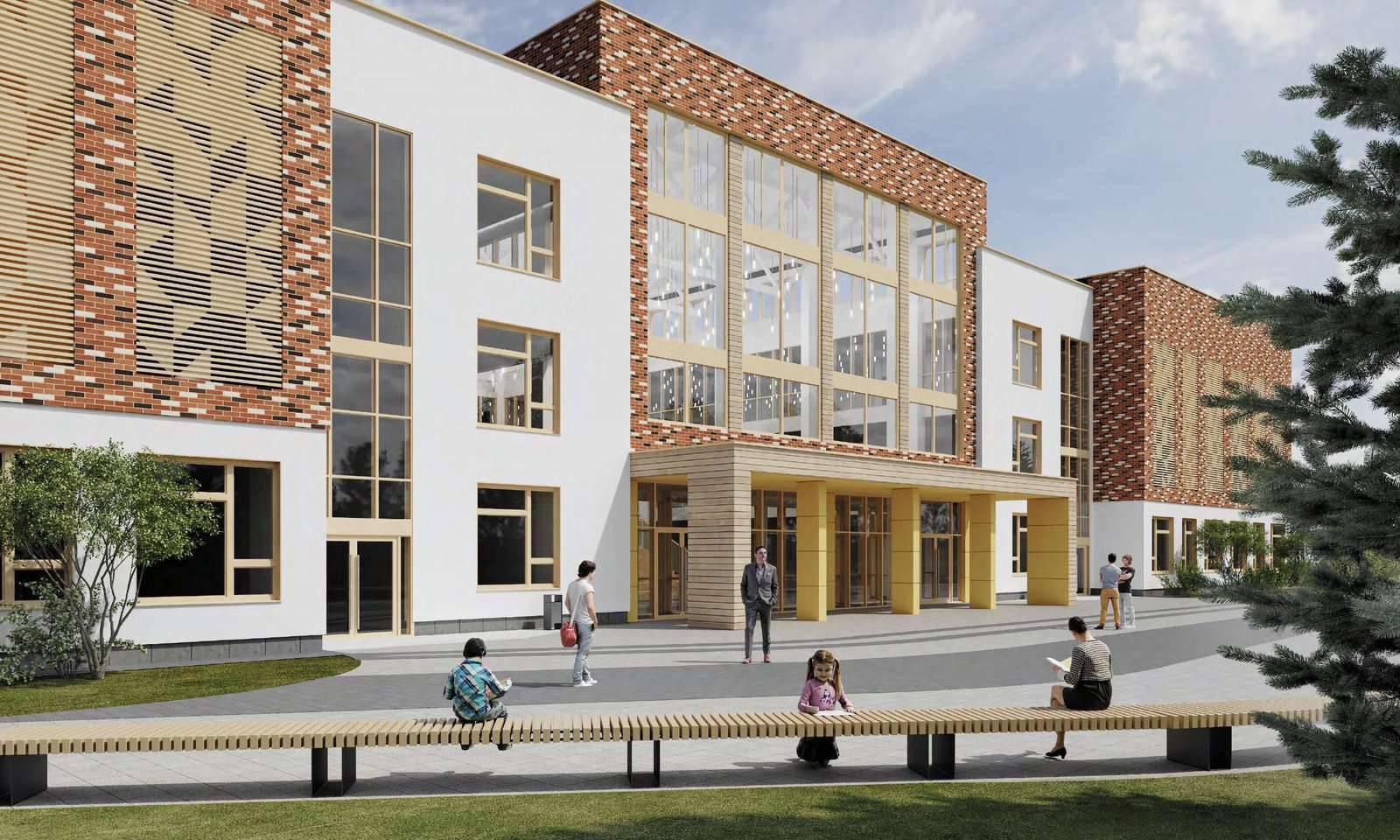 Гибкое и индивидуальное обучение. Старт строительству 25 школ дали в Подмосковье | Изображение 1